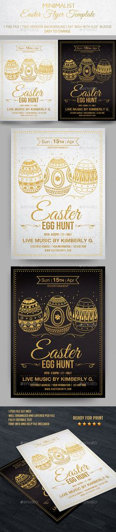 Easter EGG Hunt Flyer Template PSD Flyer template, Easter and Egg - easter flyer template