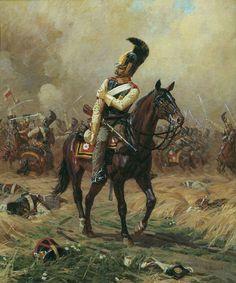 Александр Юрьевич Аверьянов. Раненый кавалергард