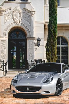 Italian-Luxury — italian-luxury:   Ferrari California by William...