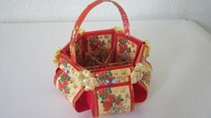 TUTORIAL 5 - Chinese New Year Floral Basket