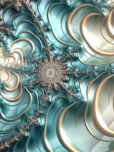 Jewelled Silk Frax - Lyn Taryn, Fractal art