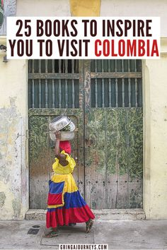 Here are 25 books that will inspire you to visit Colombia, including One Hundred Years of Solitude by Gabriel García Márquez, Oblivion by Héctor Abad Faciolince, The Armies by Evelio Rosero, Return to the Dark Valley by Santiago Gamboa , and more. | books about Colombia | novels set in Colombia | classic books about Colombia | books about living in Colombia | history of Colombia books | best Colombia travel books History Of Colombia, Visit Colombia, Colombia Travel, South America Destinations, South America Travel, North America, Machu Picchu, Travel Themes, Travel Ideas