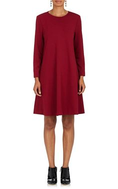 LISA PERRY Tech-Jersey Swing Dress. #lisaperry #cloth #