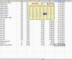 Employee Attendance Planner And Tracker  Free Excel Templates