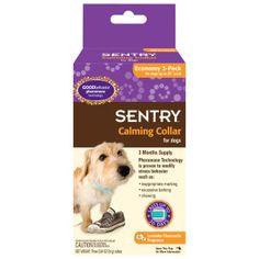 SENTRY® Calming Collar for Dogs - PetSmart 3-pack good reviews