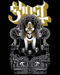 Ghost: Wegner Gold Design by Robert Wegner