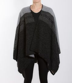 We Norwegians blanket style poncho. Cut from soft, leight-weight, brushed merino wool, it has an oversized fit perfect for layering. Work yours with a sweater and your favorite pair of jeans. Shop it at mallofnorway.com/ Merino Wool, Layering, Your Favorite, Kimono Top, Pairs, Blanket, Jeans, Fitness, Sweaters