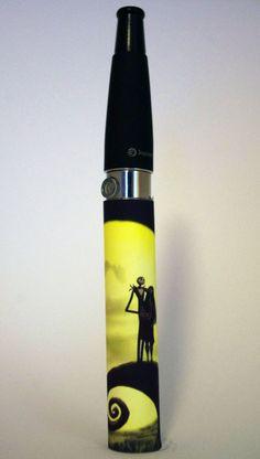 1 Vapor E Cig Ego Battery Vinyl Skin Wrap Sleeve by ESignature