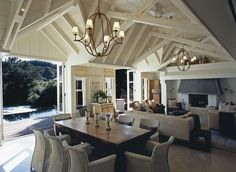 Furniture, Lloyd Loom - Huka Lodge in New Zealand, with Vincent Sheppard