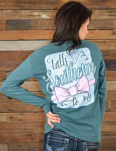 For all the Lady Eagles out there looking for a real man to talk Southern to 'em! Rock this new long sleeve t-shirt!