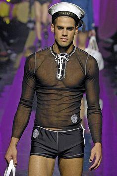 Jean Paul Gaultier S/S 2008 Menswear