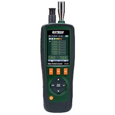 """http://termometer.dk/specialmaler-r13485/particle-counter-r35167/video-partikeltaller-med-indbygget-kamera-53-VPC300-r35172  Video partikeltæller med indbygget kamera  Samtidig måle og vise 6 kanaler af partikelstørrelser (ned til 0,3 mM), lufttemperatur, fugtighed, dugpunkt og vådtemperatur  2,8 """"TFT LCD-farveskærm  Indbygget 320x240-pixel kamera tager videoer (3GP) og foto billeder (JPEG) og registrerer dem i den interne 74MB hukommelse  Store 5000 poster (dato, tid, tæller..."""