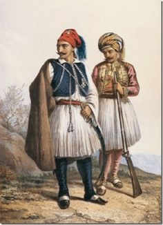 Грек и Арнаут (Greek and Arnaut), Russia 1862