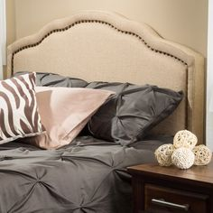 Christopher Knight Home Bellagio Adjustable Fabric Headboard | Overstock.com Shopping - The Best Deals on Headboards