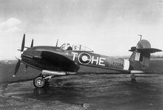 A pilot in his Westland Whirlwind