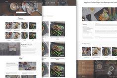 GoodFood Blog PSD Template by FreshPixels.pl Buy now: https://creativemarket.com/freshpixelspl/107912-GoodFood-Blog-PSD-template