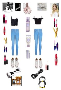 """Untitled #75"" by amber-blehm on Polyvore featuring Lipsy, MAC Cosmetics, Converse, Maybelline and MANGO"