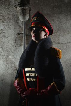 Imperial Guard Commissar - Warhammer 40000 cosplay by VasilinaMor