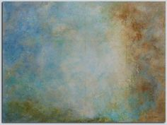 "Women Painters West: Karen Hansen. Seven Bits and Everything Else   acrylic on birch panel, 30"" x 40"""