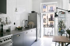 Gravity Home  : (via Table For Two: Small Kitchen Ideas That...