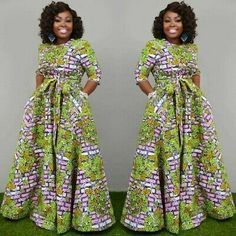 Amazing Ankara Gown Styles That Will Turn Heads This SummerLatest Ankara Styles and Aso Ebi Styles 2020 Trendy Ankara Styles, Ankara Gown Styles, Ankara Gowns, Ankara Dress, Dashiki Dress, Dress Styles, African Fashion Ankara, Latest African Fashion Dresses, African Print Fashion