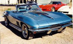 For me, there may not be a more beautiful car in the world than this 1967 corvette stingray roadster