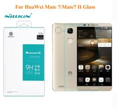Screen Protector for HuaWei Mate 7,NILLKIN H/H+/H+ PRO/PE+ Tempered Glass Screen Protector Film For HUAWEI mate7 with package