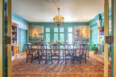 Tour a 1917 Well-Known Mansion in Atlanta | 2016 | HGTV >> http://www.hgtv.com/design/ultimate-house-hunt/2016/classic-living/classic-living-1917-mansion-in-atlanta?soc=pinterest