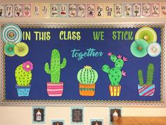 Image result for cactus bulletin board