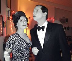 Grayscale Couple Halloween Costume | www~freeshareimages~com