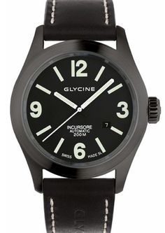 Glycine Watch Incursore 46mm 200M Automatic