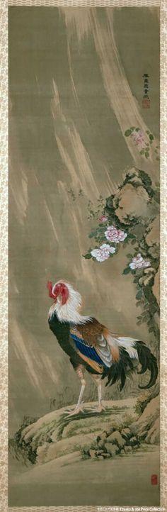 Rooster ..... ITO , JAKUCHU .... 3/2/1716 -- 10/27/1800