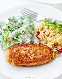 Kotlety mielone z indyka Pork Recipes, Baby Food Recipes, Vegetarian Recipes, Healthy Recipes, Kids Meals, Easy Meals, Polish Recipes, Tortellini, Salmon Burgers
