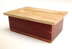 Spalted Ash box 103 tg2 by KevinWilliamson on Etsy, $30.00