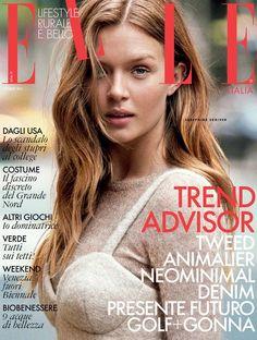 Josephine Skriver Elle Italy September 2015 Cover Photoshoot13