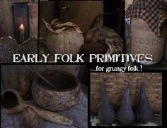 early folk primitives