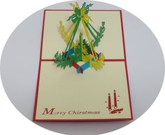Merry Christmas 8 - 3D Pop Up Cards - Greeting Cards - Ovid Gifts