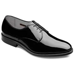 #engagementparty Allen Edmonds Mayfair Shoes in Black Patent Leather. $335. Look-At-Me Leather.