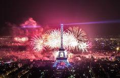 feu artifice 14 juillet 2013 Paris 7