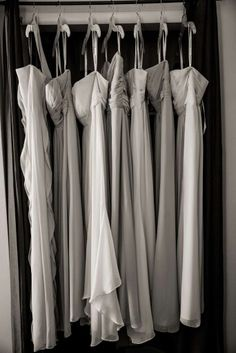 Bridesmaids dresses from David's Bridal