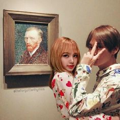A date in the gallery. Only Taelice can do this. Ssup Van Gogh? 😉😉😉😉😉💜💜💜💜💜💜💜💜💜 - - - Please repost with credits and caption thank you 😊 - - - - - #BLACKPINK #LISA #lalisa #taelice #yoonlice #yoonlice #liskook #lismin #lishope #jinlice #namlice #blackbangtan #armlink #jinsoo #namjen #jirose #blacksonyeondan #purplehearties #bunicorn #magniranthine #nalalisa #블랙핑크 #리사 #라리사 #나라리사 #Edit - (edits are mine, repost with credits) Taehyung, Bts Girl, Kpop Couples, Blackpink And Bts, Ulzzang Couple, Blackpink Lisa, Girl Bands, Bts Suga, Van Gogh