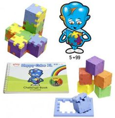 €19,95 3d Puzzels Happy Cube (Met Video) www.ilmelograno.net