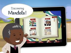 Mandela - History Discover the story of Nelson Mandela. From apartheid to the presidency of South Africa follow the struggle of an extraordinary man with this app, unique in its kind, through 10 animated tableaux! A gallery of portraits reveals the destinies of François Piennar, Desmond Tutu and Winnie Mandela, among others. Four games, both educational and fun, help the young reader to retain the major elements of the story.   52MB