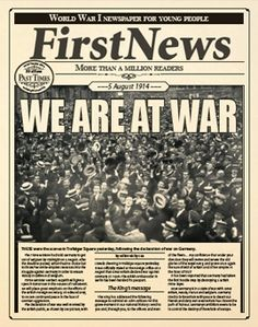 WORLD WAR ACTIVITIES | First News for Schools Primary Teaching, Teaching Ideas, Ww1 Art, Education And Literacy, Jokes And Riddles, Dating World, Remembrance Day, Teaching History, World War One