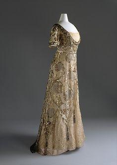 Callot Soeurs evening dress, c.1910-14.