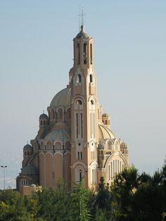 Lebanon, Harissa, sts Peter  Paul Melkite Basilica
