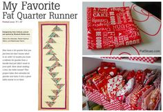 Pat sloan favorite runner collage - Enter for a chance to WIN http://blog.patsloan.com/2015/04/pat-sloan-give-away-day-can-you-say-smash-your-stash.html