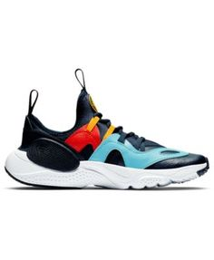c2dbe72755f9 Nike Boys  Huarache E.d.g.e Casual Sneakers from Finish Line - Blue 6