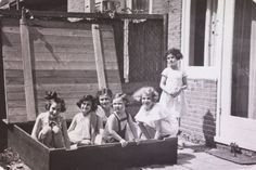Do you see a familiar face in this picture? Taken in 1937 in Amsterdam, this image captures a young Anne Frank (second from left) playing with her friends in a sandbox. In 1959, LIFE photographer Paul Schutzer found the picture while thumbing through a family album in the home of friends. Intrigued, he set out to meet the rest of the women. Read about those encounters: http://ti.me/RQyP5F