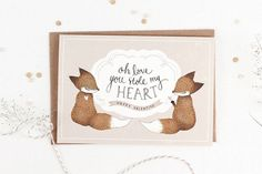 Oh Love, You've Stolen My Heart - Greeting Card by Yee Von Chan, via Flickr